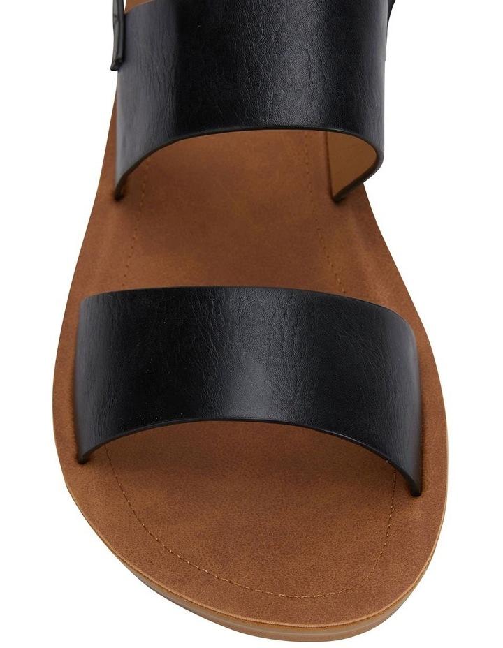 Ginger Black Smooth Sandal image 5