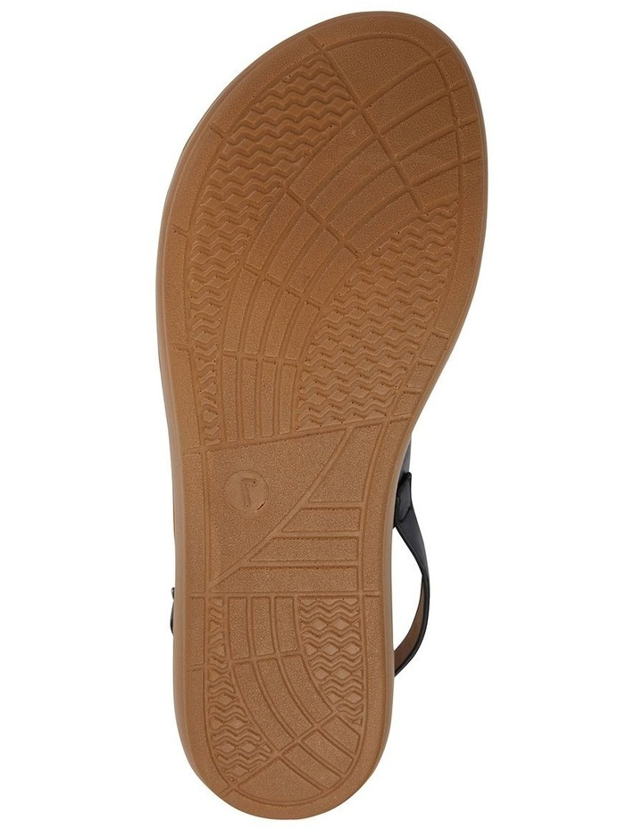 Ginger Black Smooth Sandal image 6