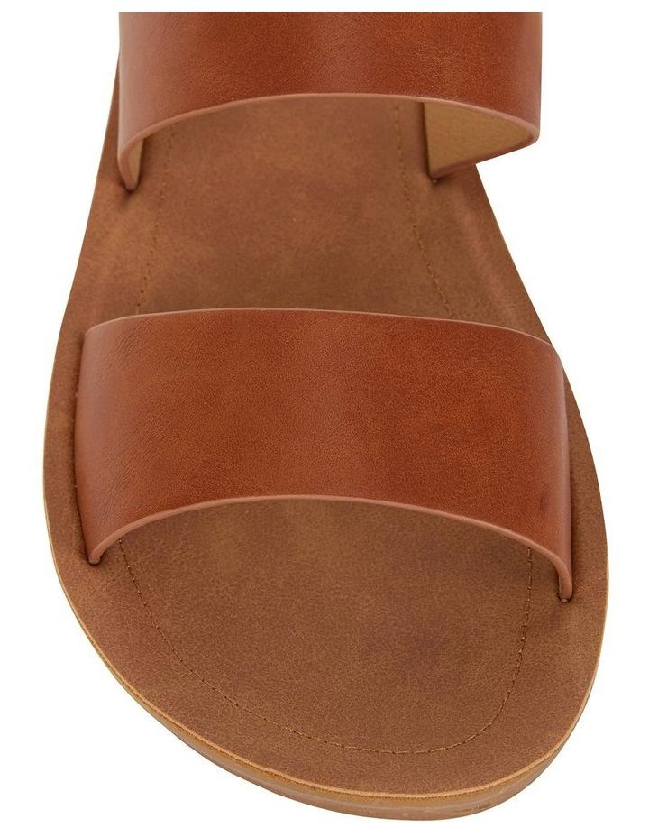 Ginger Cognac Smooth Sandal image 5