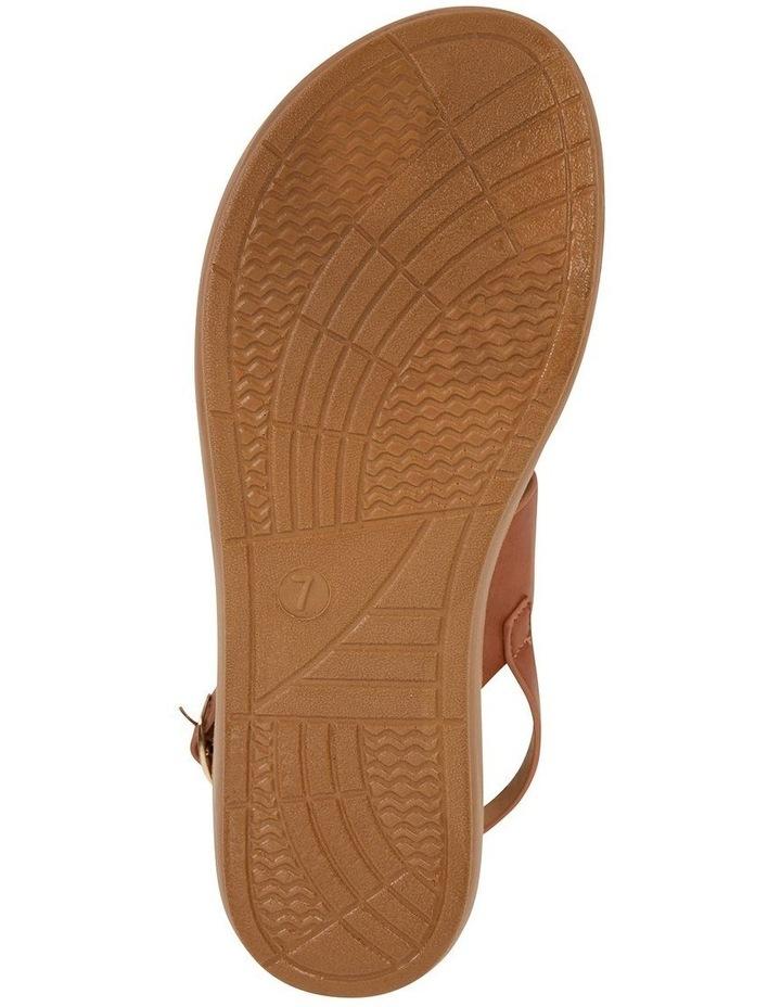 Ginger Cognac Smooth Sandal image 6