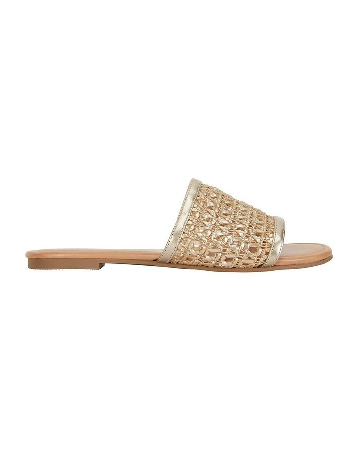 Ditto Soft Gold Weave Sandal image 1