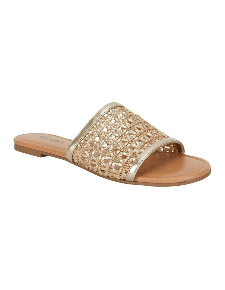 Ditto Soft Gold Weave Sandal image 2