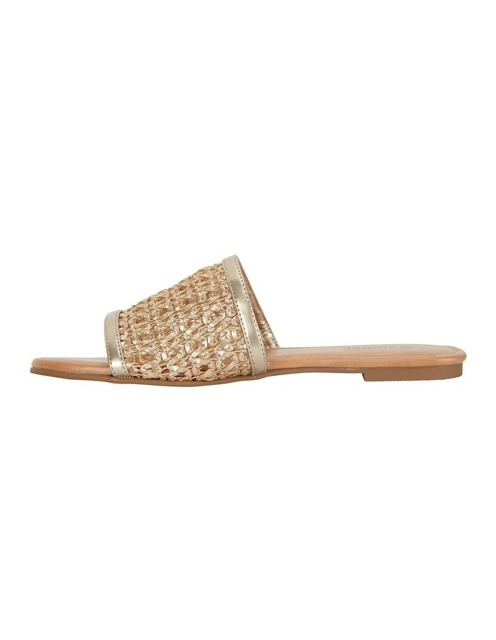 Ditto Soft Gold Weave Sandal image 3