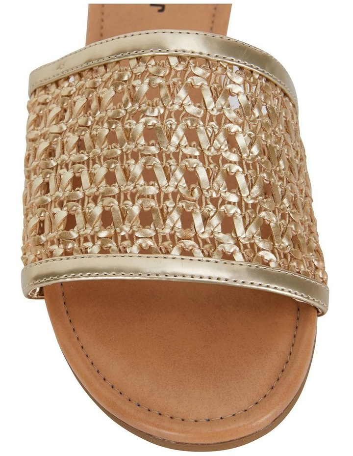 Ditto Soft Gold Weave Sandal image 5