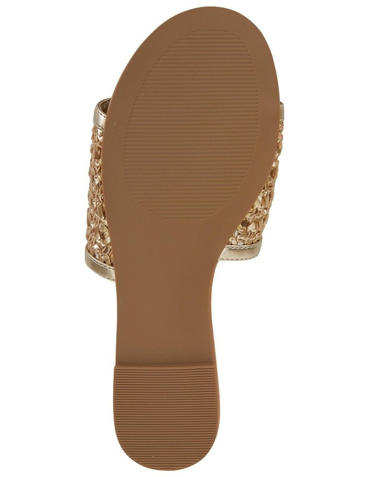 Ditto Soft Gold Weave Sandal image 6