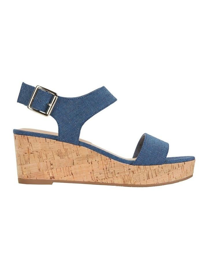 Ember Denim Fabric Sandal image 1