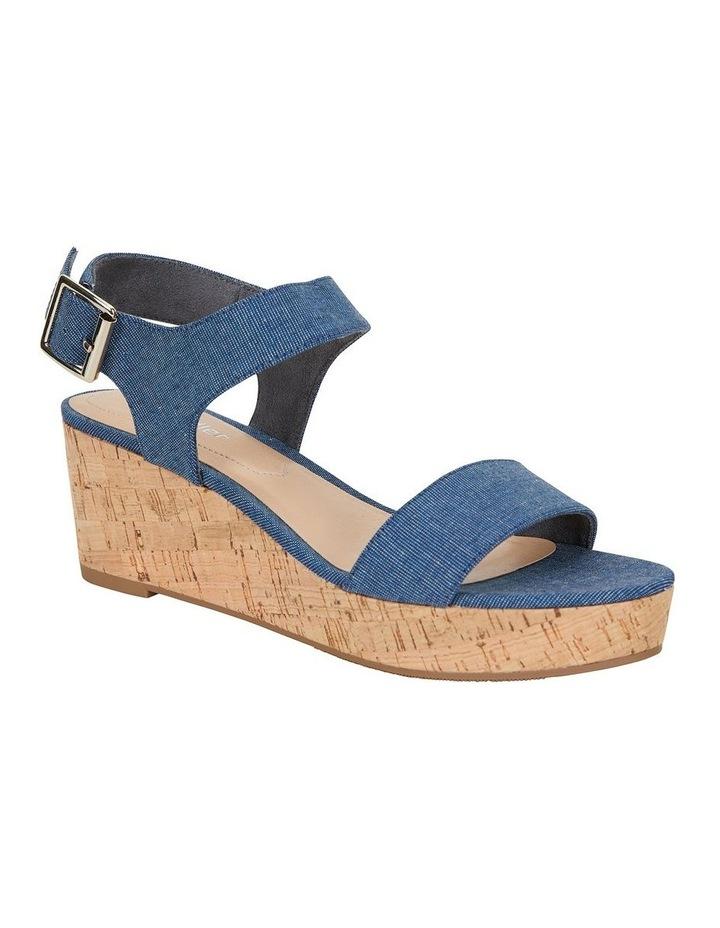 Ember Denim Fabric Sandal image 2