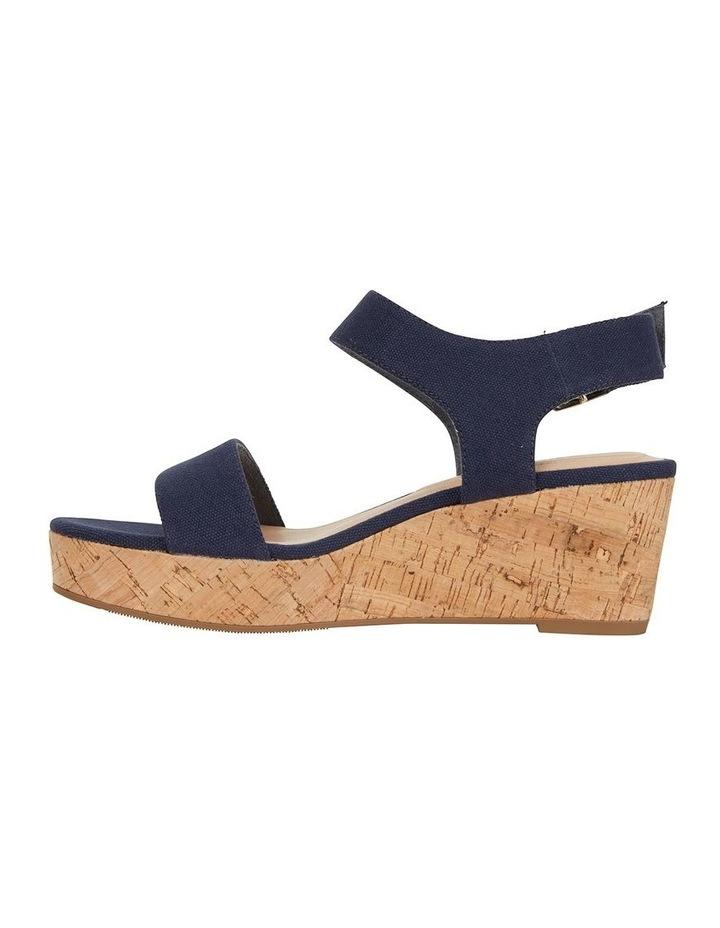 Ember Navy Linen Sandal image 3