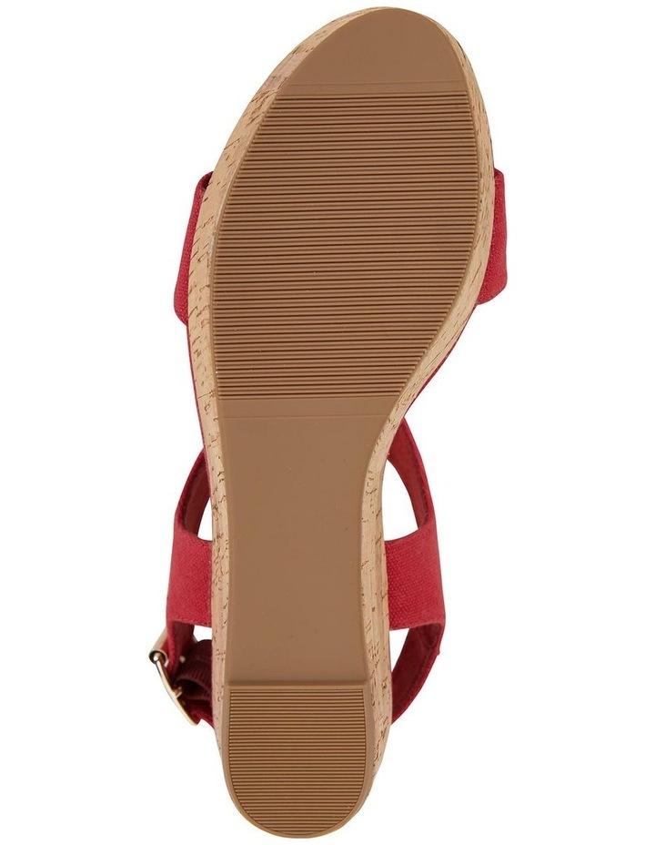 Ember Red Linen Sandal image 6