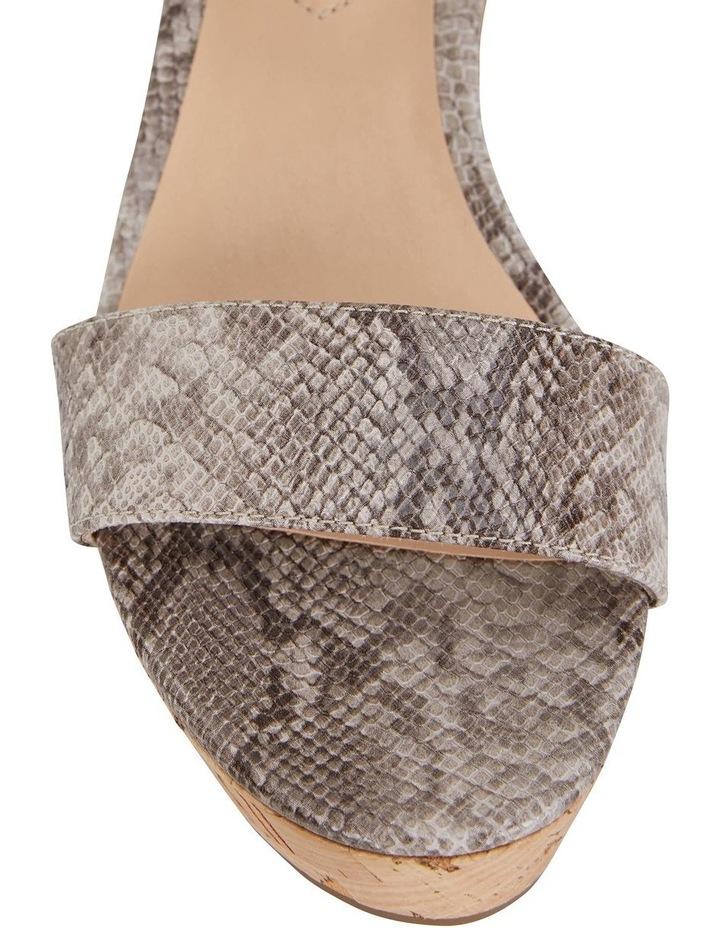 Ember Snake Print Sandal image 5