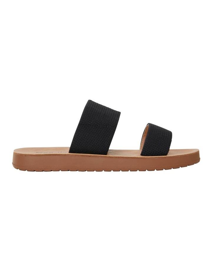 Havoc Black Elastic Sandal image 1