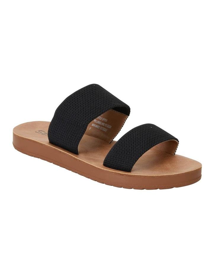 Havoc Black Elastic Sandal image 2