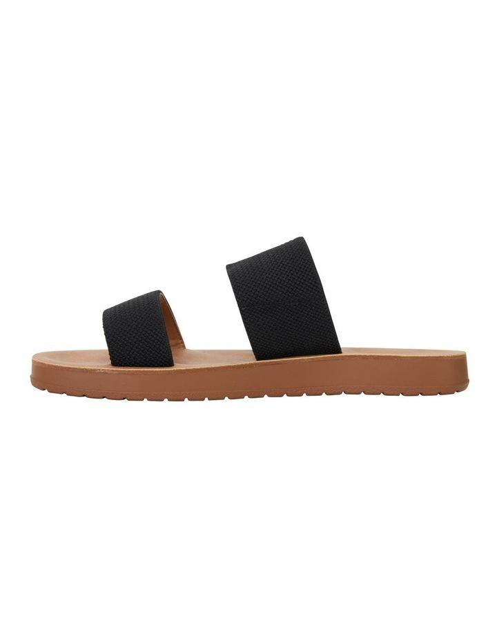 Havoc Black Elastic Sandal image 3