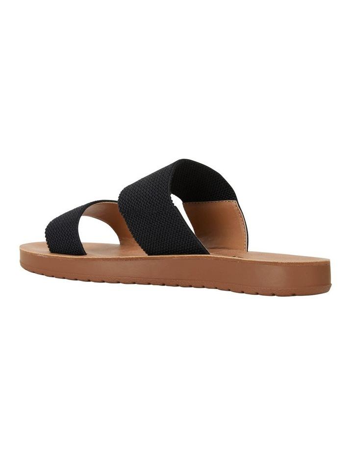 Havoc Black Elastic Sandal image 4