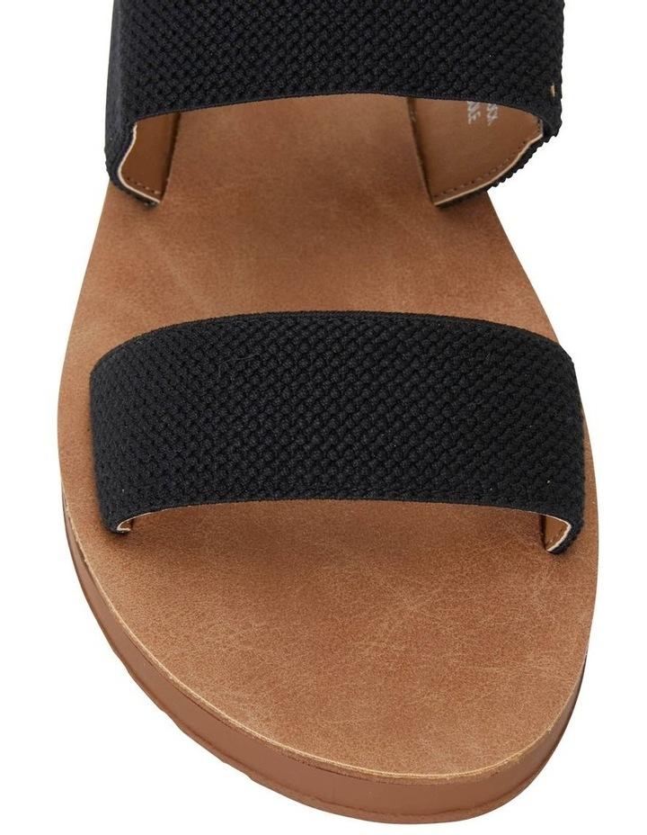 Havoc Black Elastic Sandal image 5