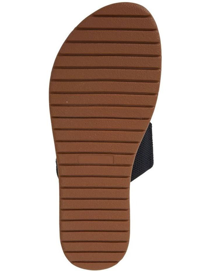 Havoc Black Elastic Sandal image 6