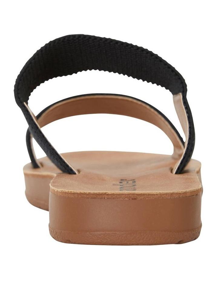 Havoc Black Elastic Sandal image 7