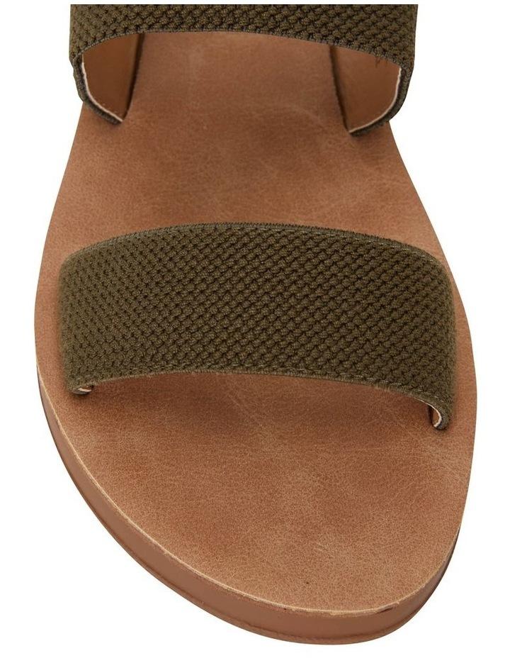 Havoc Khaki Elastic Sandal image 5