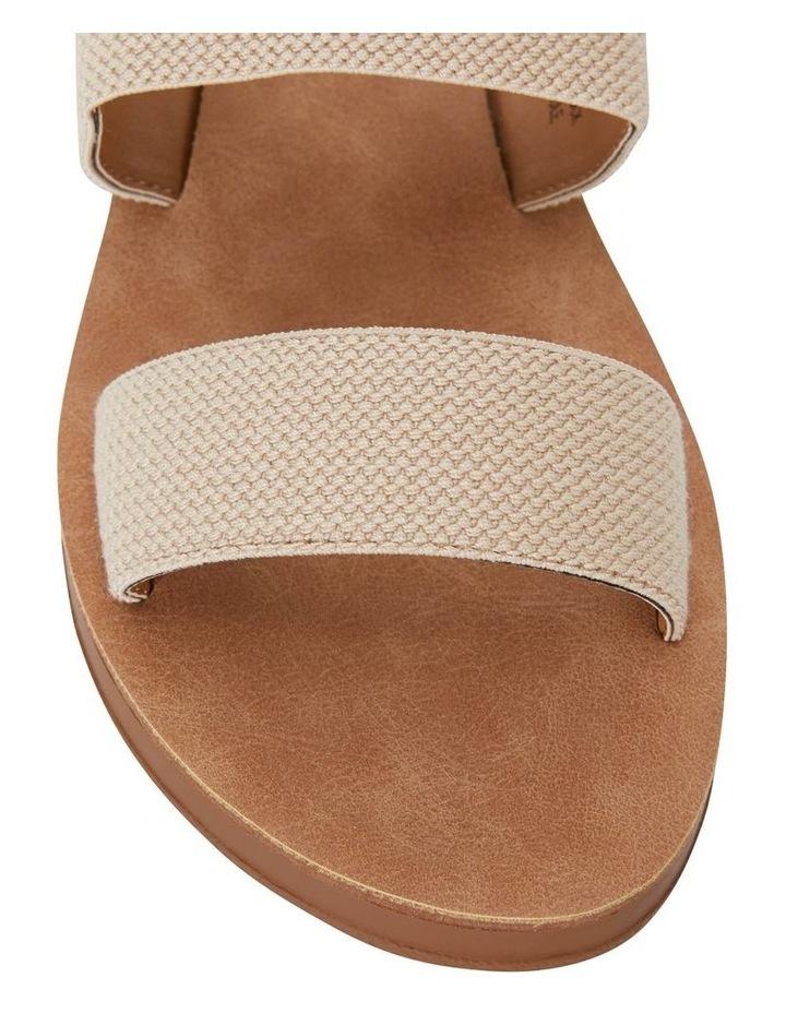 Havoc Nude Elastic Sandal image 5