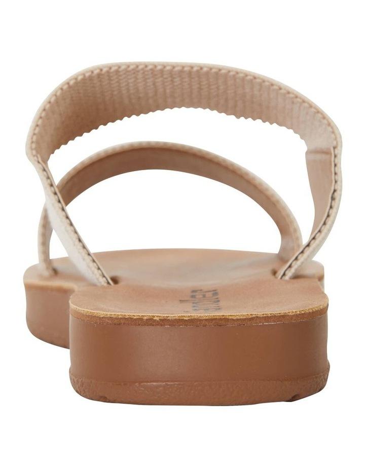 Havoc Nude Elastic Sandal image 7