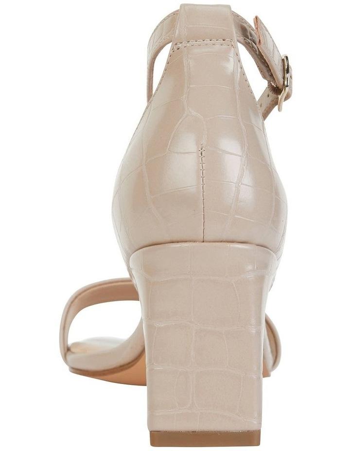 Harper Nude Croc Sandal image 5