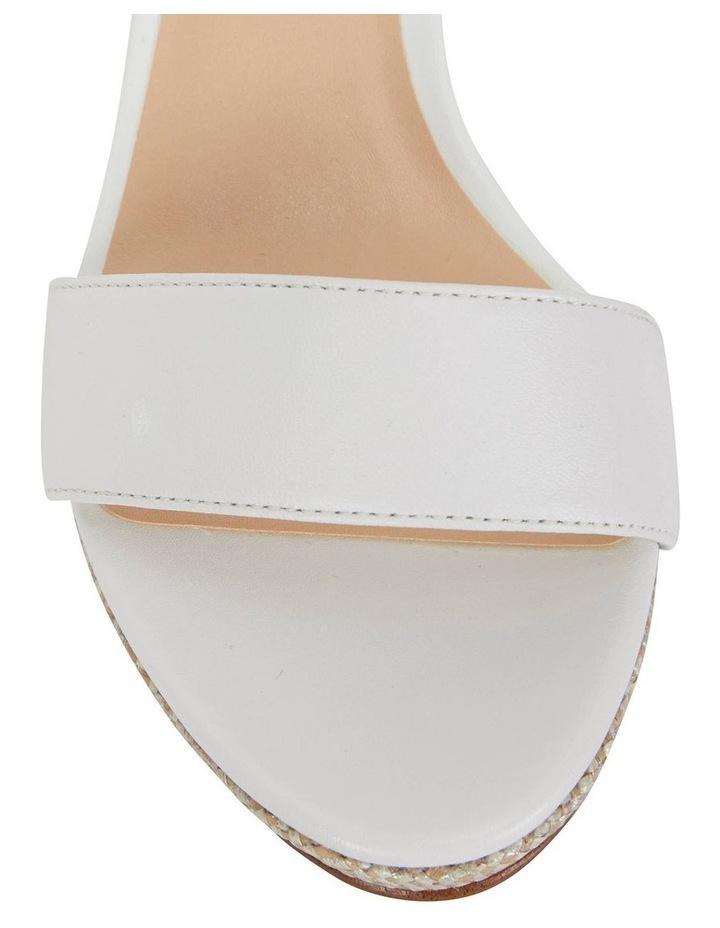Claudia White Glove Sandal image 5