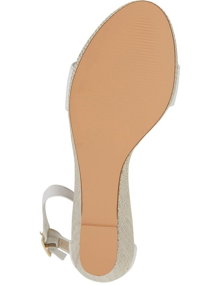 Claudia White Glove Sandal image 6