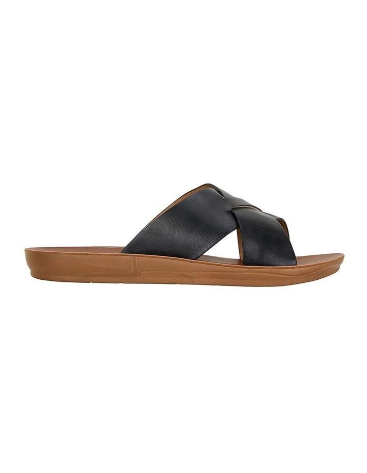 Gizmo Black Smooth Sandal image 1