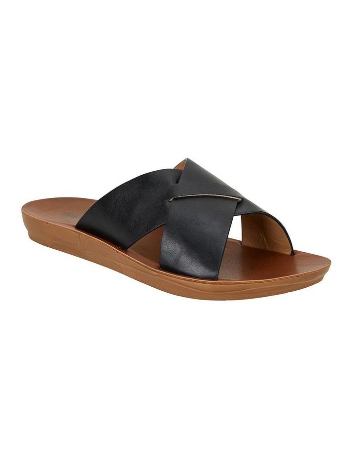 Gizmo Black Smooth Sandal image 2