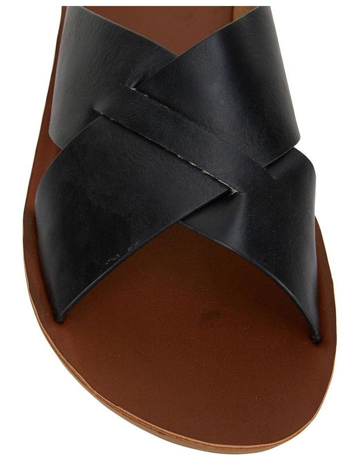Gizmo Black Smooth Sandal image 5