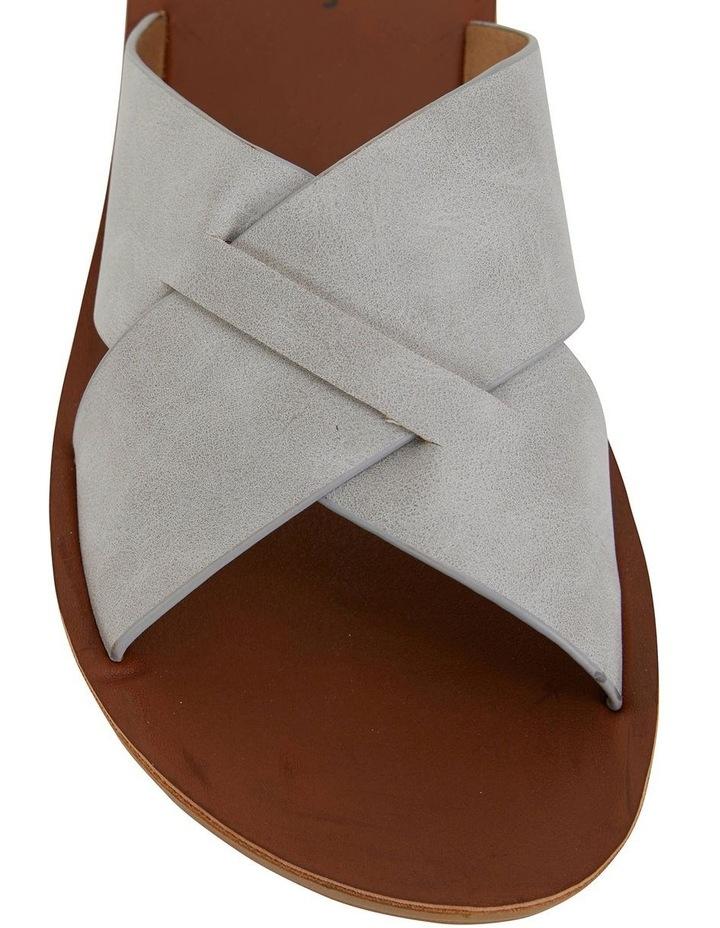 Gizmo Light Grey Smooth Sandal image 5