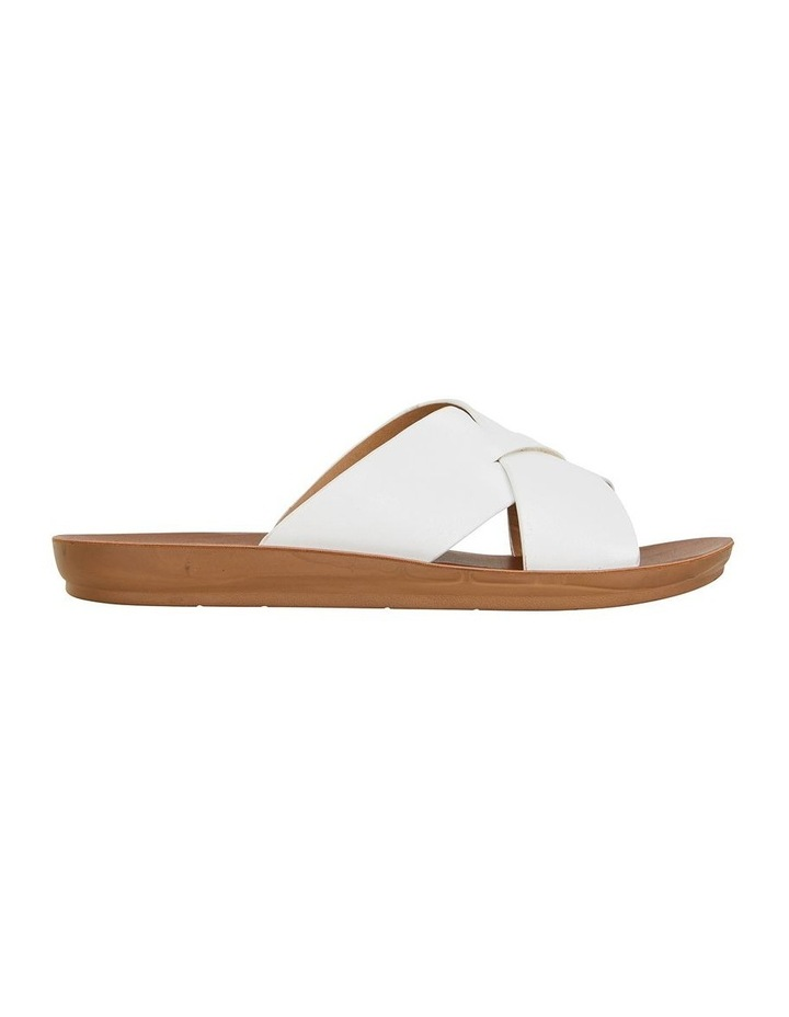 Gizmo White Smooth Sandal image 1