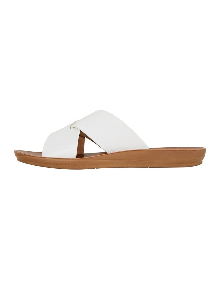 Gizmo White Smooth Sandal image 3