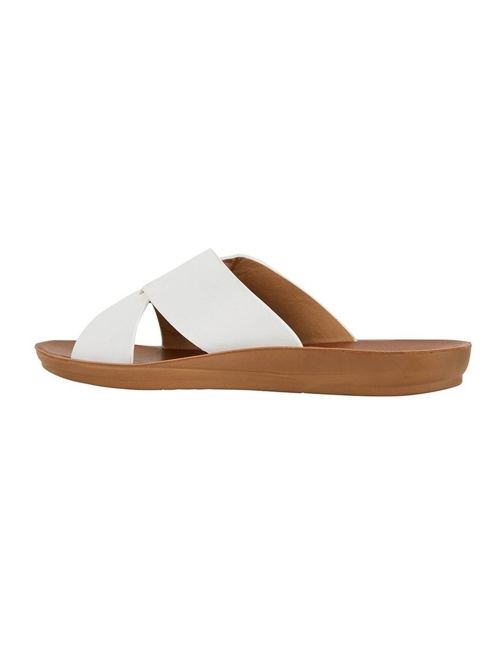 Gizmo White Smooth Sandal image 4