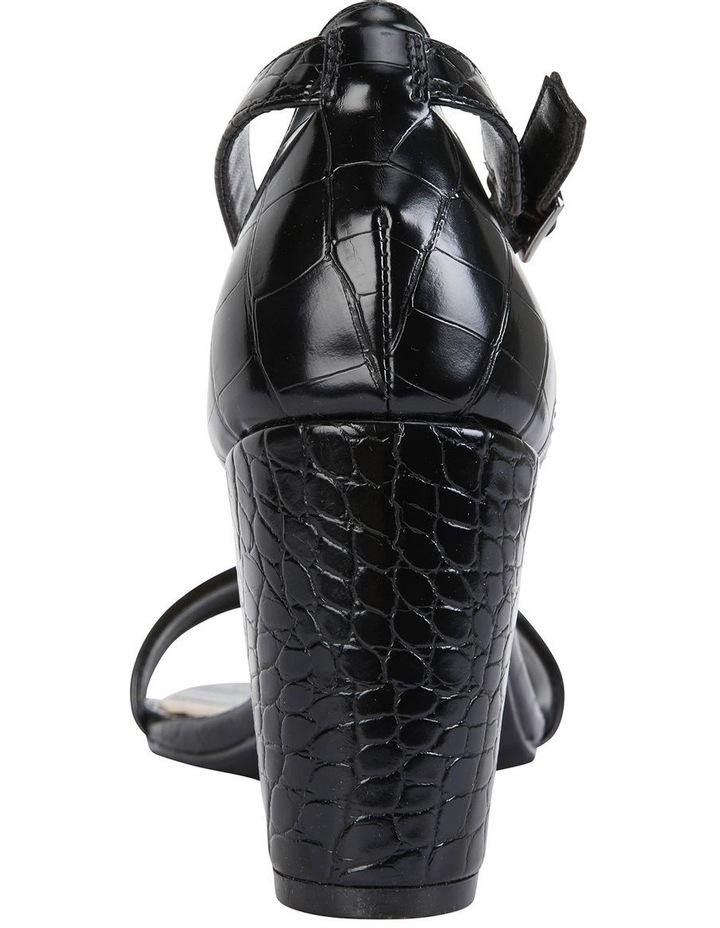 Juliet Black Croc Sandals image 6