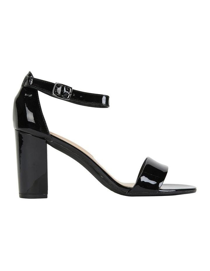 Juliet Black Patent Sandals image 1