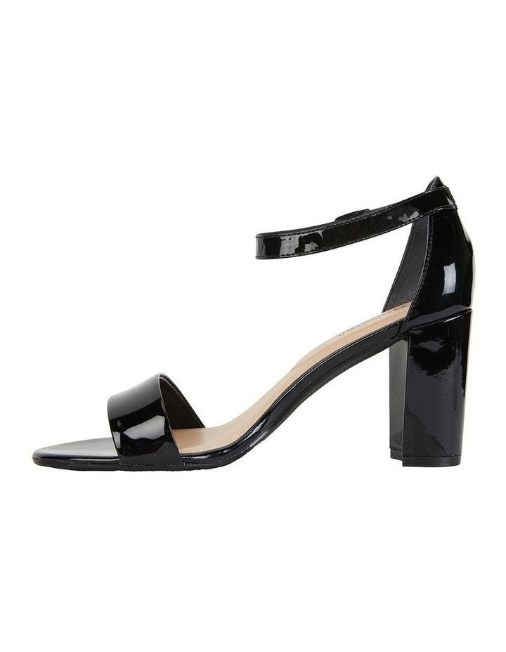 Juliet Black Patent Sandals image 2