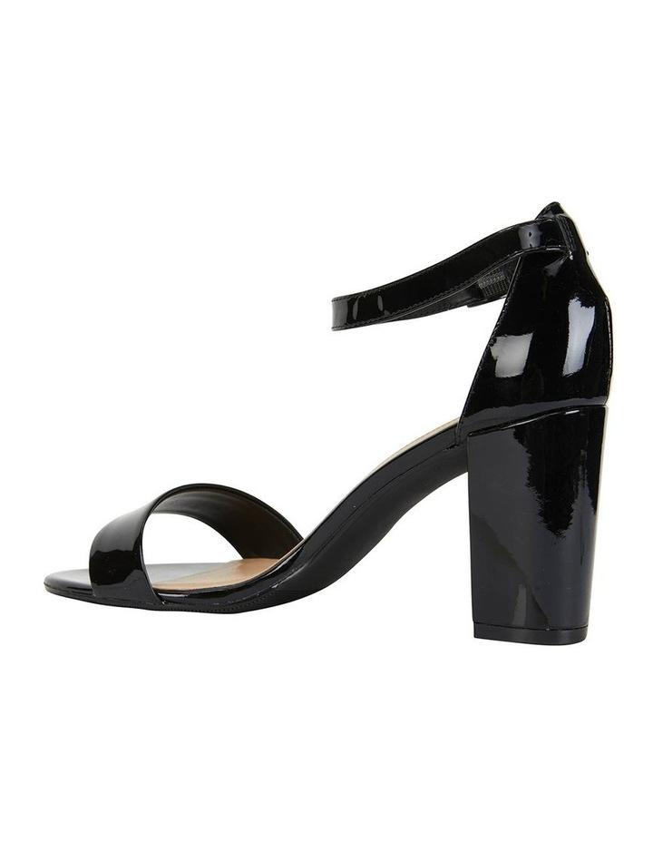 Juliet Black Patent Sandals image 3