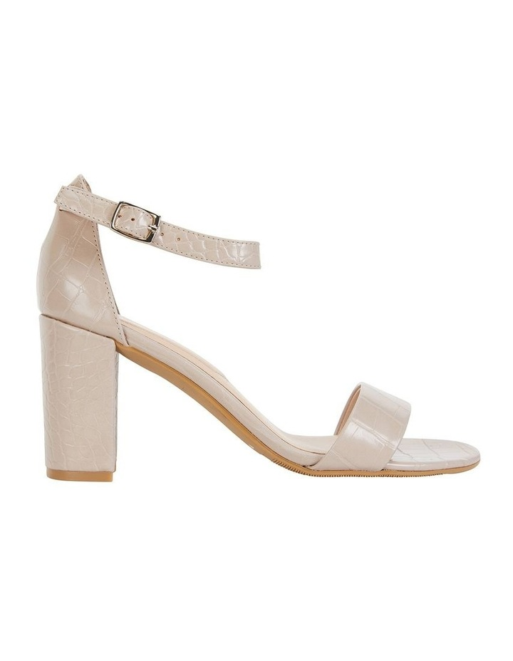 Juliet Nude Croc Sandals image 1
