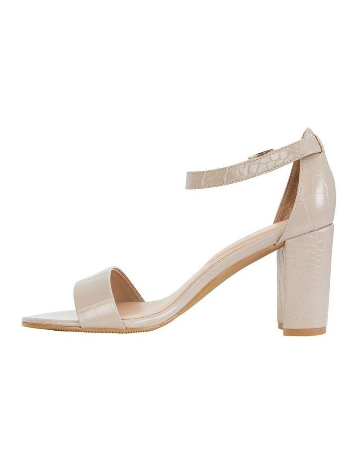 Juliet Nude Croc Sandals image 3