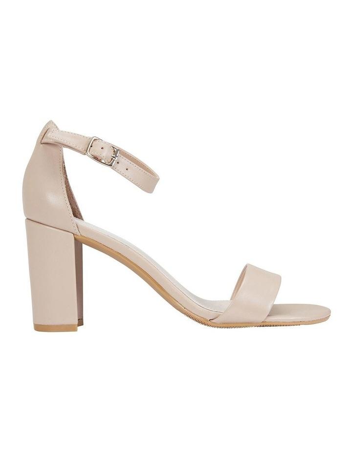 Juliet Nude Glove Sandals image 1