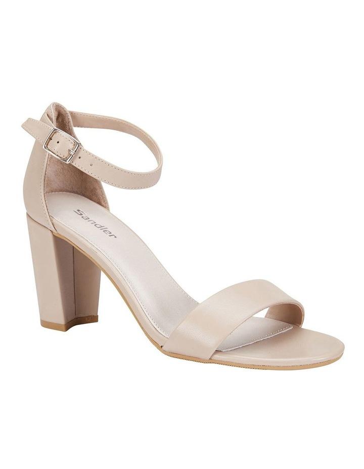 Juliet Nude Glove Sandals image 2