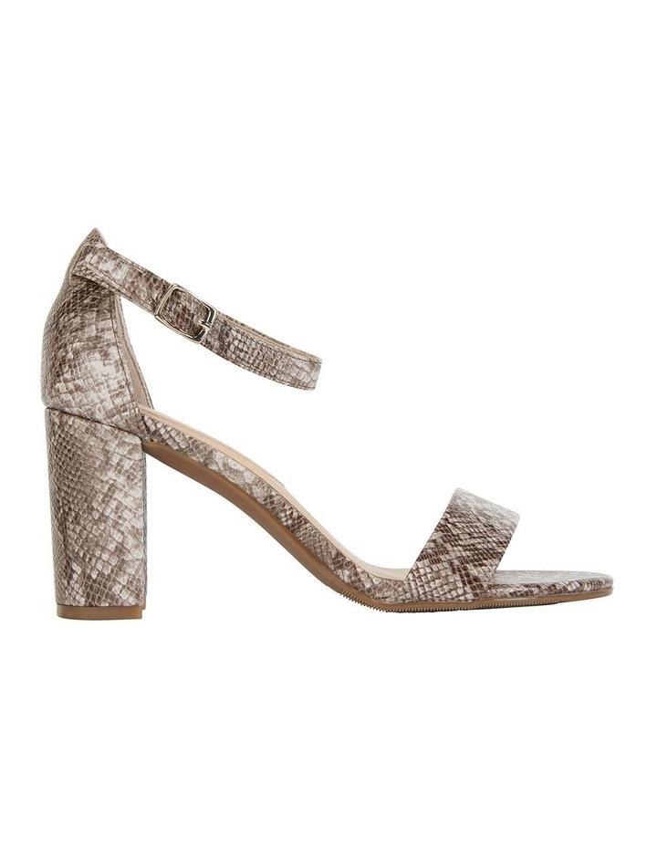 Juliet Snake Print Sandals image 1