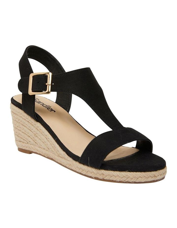 Anchor Black Fabric Sandal image 2