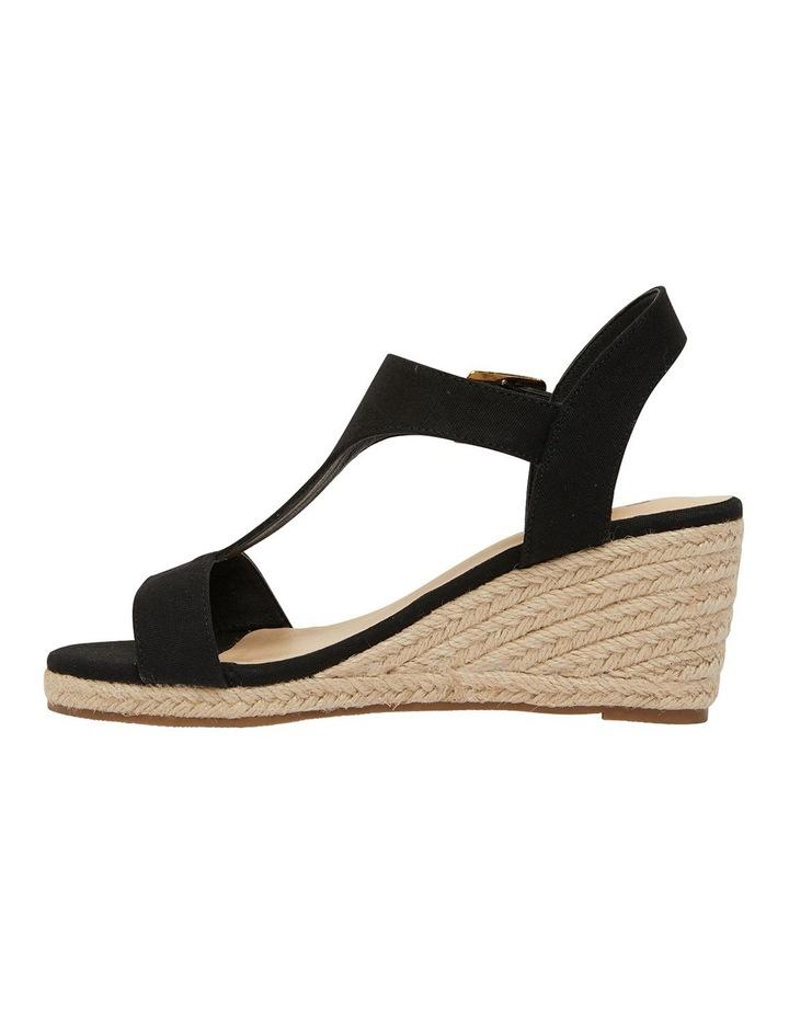 Anchor Black Fabric Sandal image 3