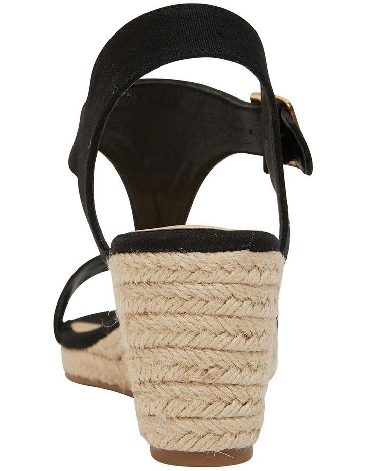 Anchor Black Fabric Sandal image 5