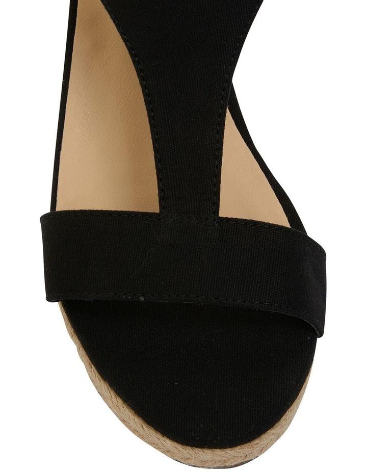 Anchor Black Fabric Sandal image 7