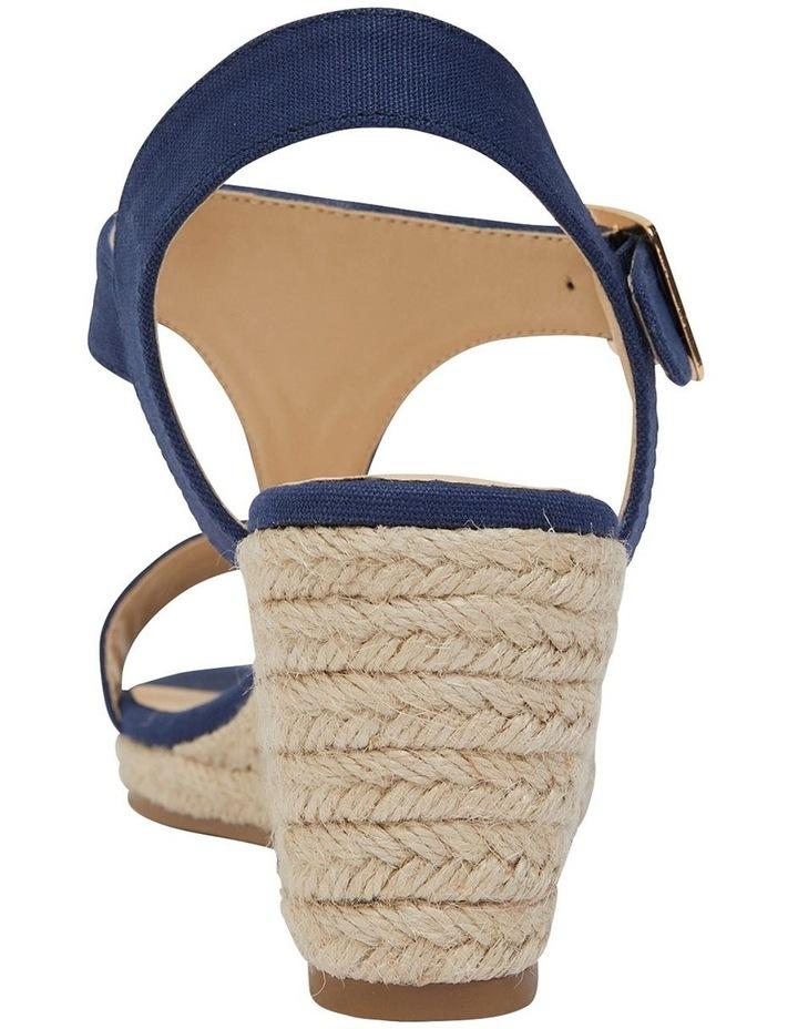 Anchor Navy Fabric Sandal image 5
