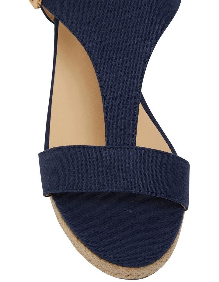 Anchor Navy Fabric Sandal image 7