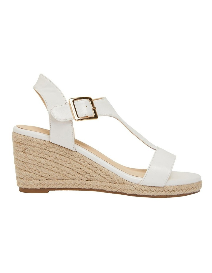 Anchor White Smooth Sandal image 1